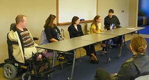 Disabilities Panel at University of Nebraska - Kearney