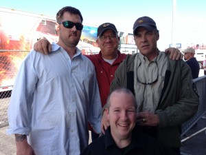 Chet McDoniel with Gov. Rick Perry, Glenn Beck and Marcus Luttrell
